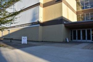 Frank Hurt School main entrance