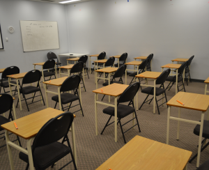 Ielts Test Room at New Link College