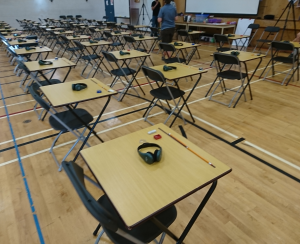 Ielts Test Room at Surrey Adult Education Centre